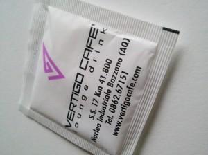 bustina zucchero personalizzata lounge drink