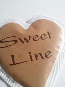 bustina zucchero forma cuore Cuore sweet line 023
