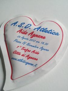 zucchero in bustine a cuore Cuore asd atletica 021
