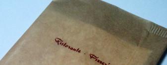 busta portaposate personalizzata