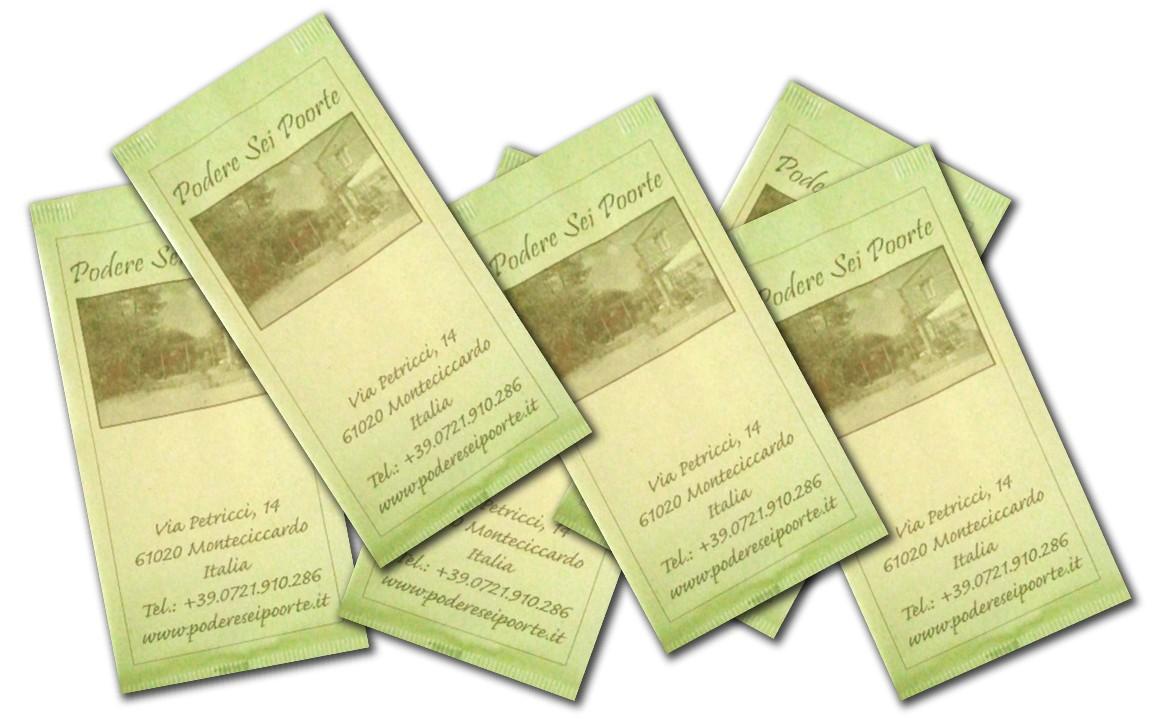 buste porta posate personalizzate in carta paglia podere sei poorte buste carta paglia2