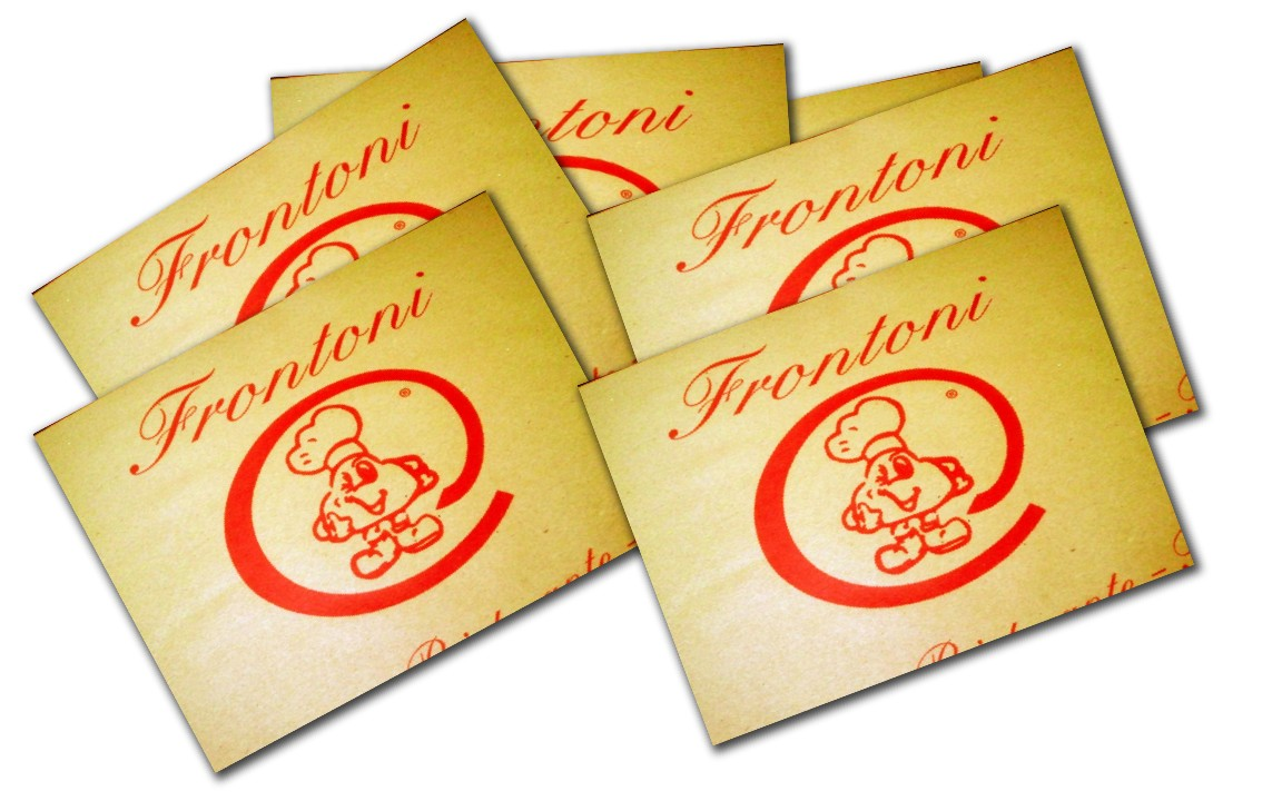 tovagliette tipo carta da pacchi frontoni tovaglietta carta paglia