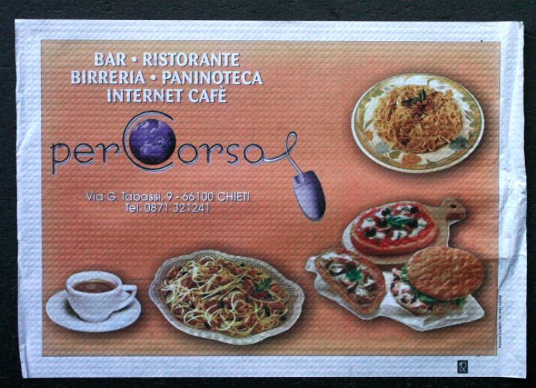 tovaglietta di carta per bar carta bianca per alimenti 35x50