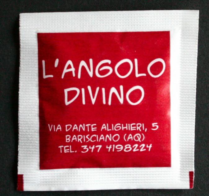 Italian manufacturer of sugar sachets 2
