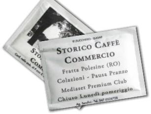 bustine zucchero locali storici