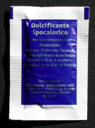 kalorienarmer Süßstoff in Sachets für Bars 2