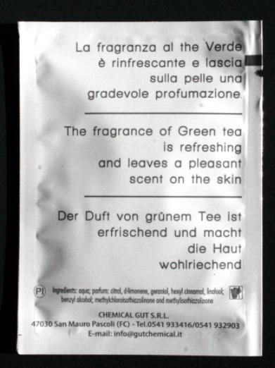 lingettes de thé vert personnalisées 2