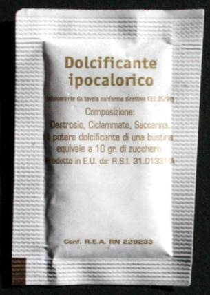 sweetener sachets customized 2