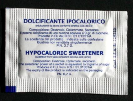 zoetstof sachets aangepaste 2