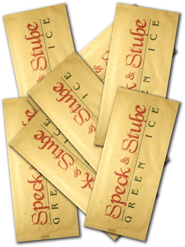 busta porta posate in carta paglia