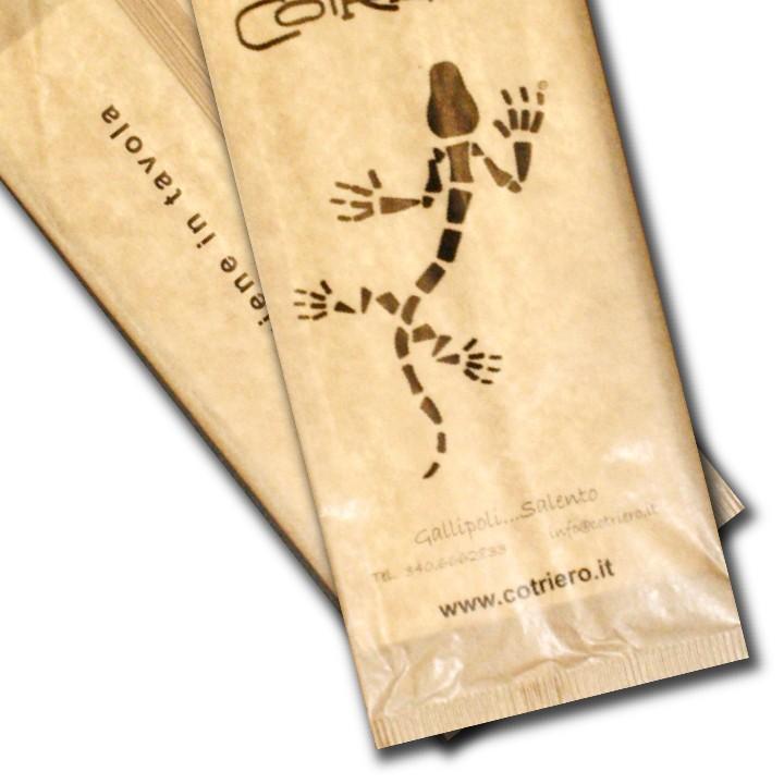 buste portaposate carta avana