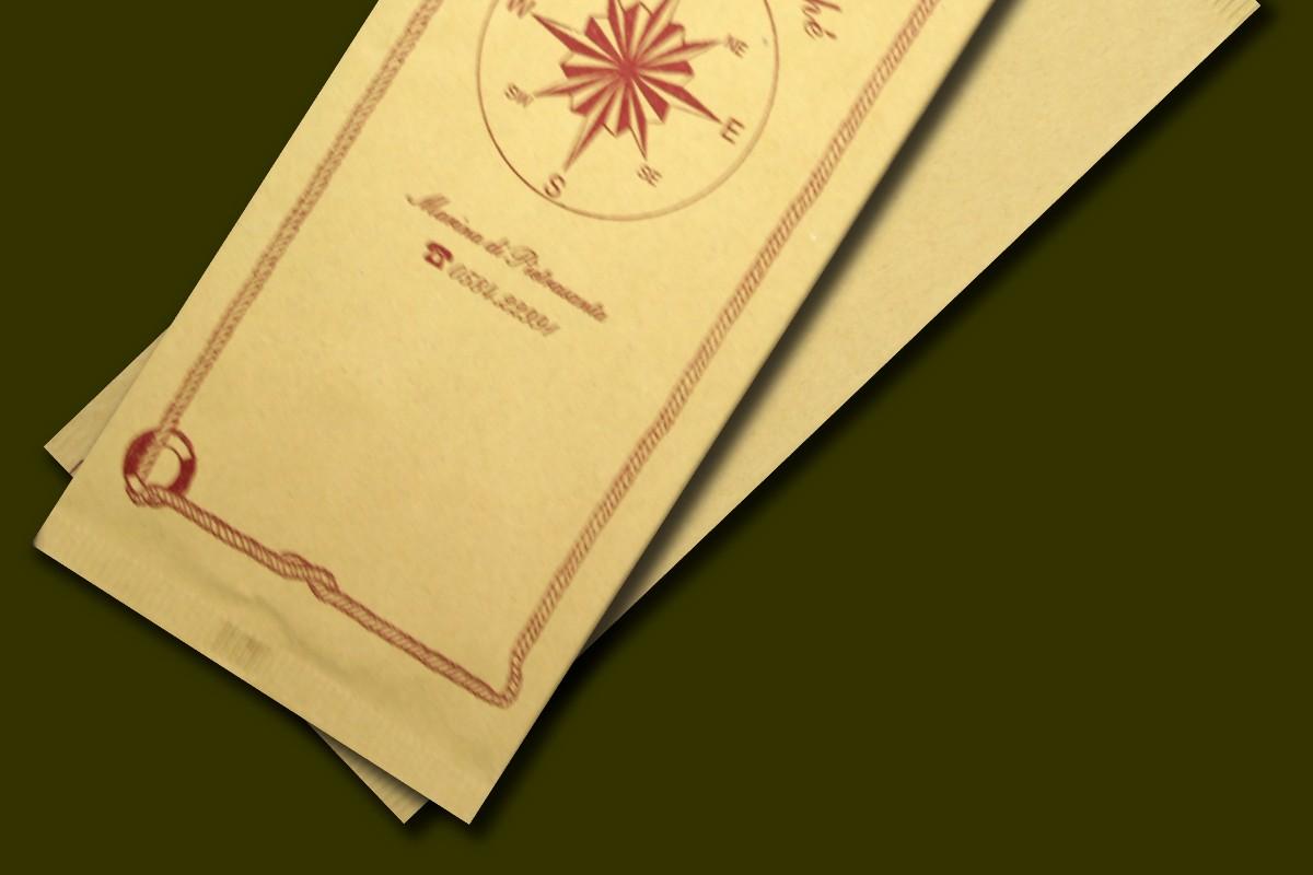 buste portaposate fatte in carta paglia