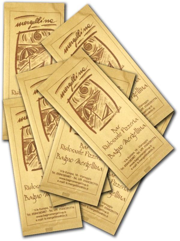 buste portaposate in carta gialla