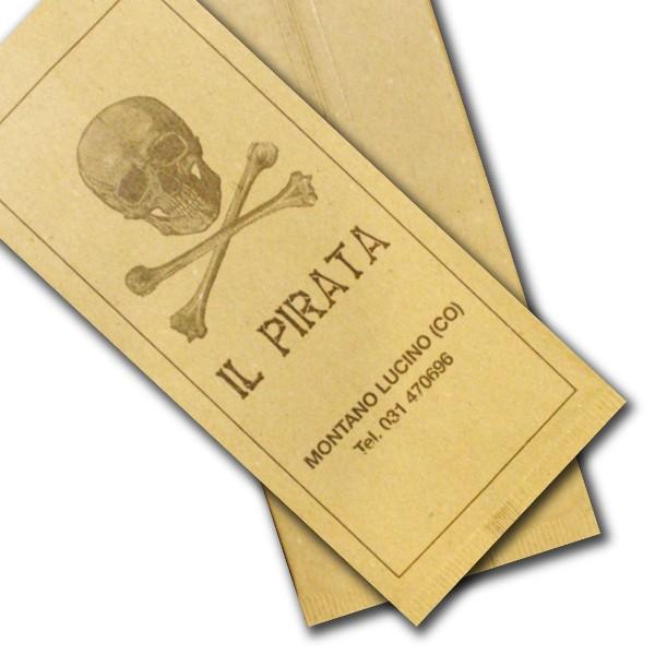 portaposate in carta paglia personalizzate