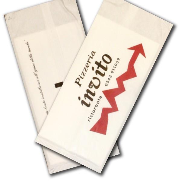 sacchetti porta posate personalizzati
