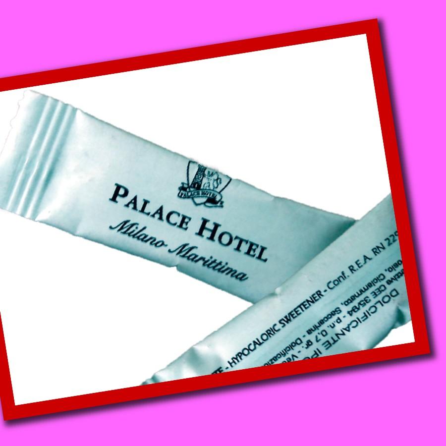 sobrecitos de edulcorante para hoteles