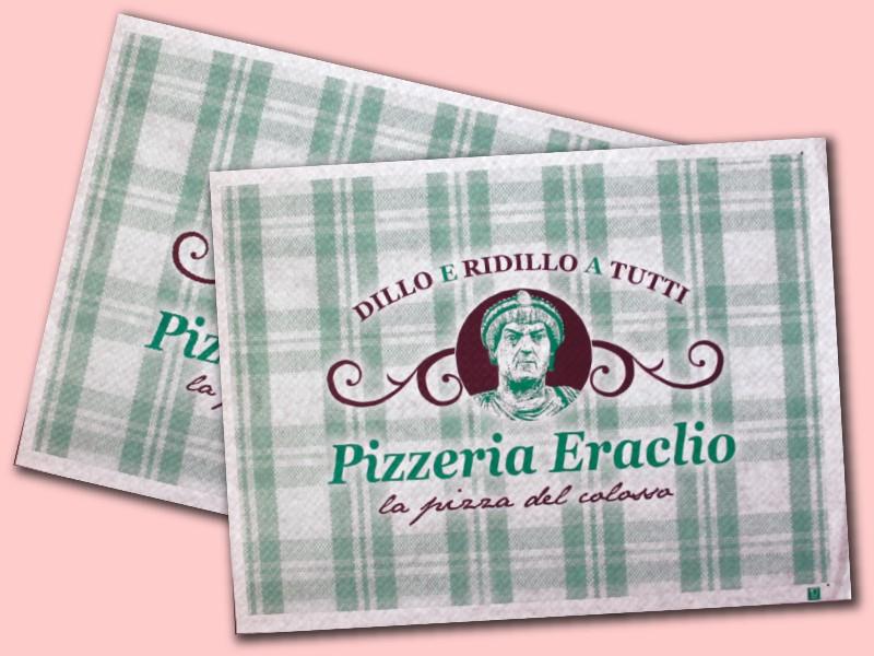 tovaglietta in carta per pizzerie