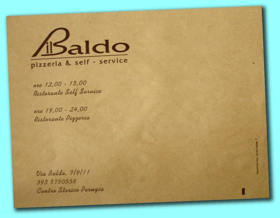 tovagliette carta paglia con logo