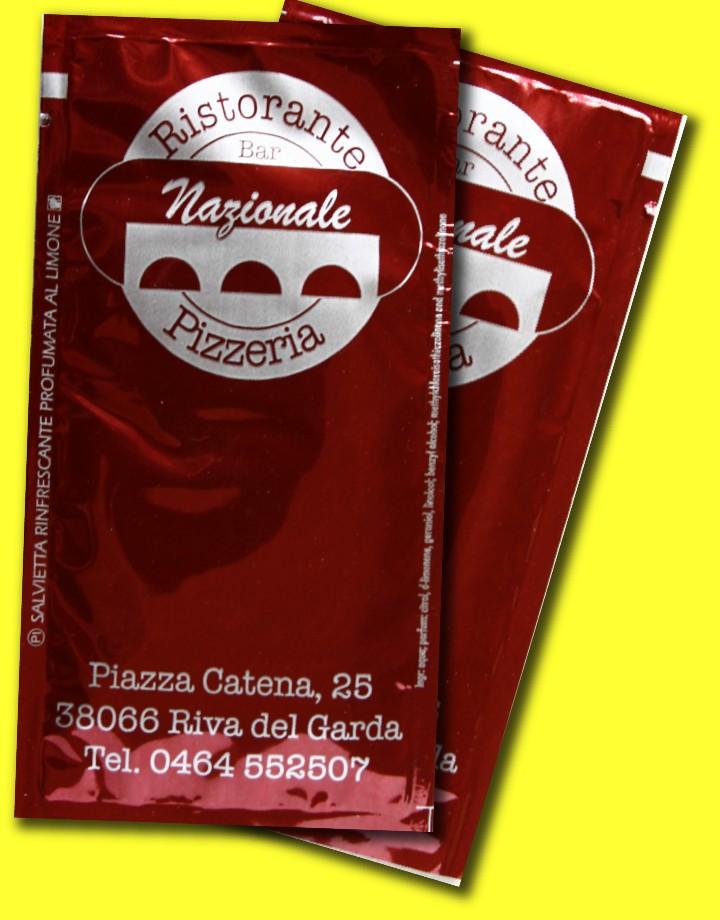salviettine umidificate per pizzerie